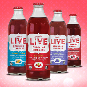 Live Sparkling Drinking Vinegars