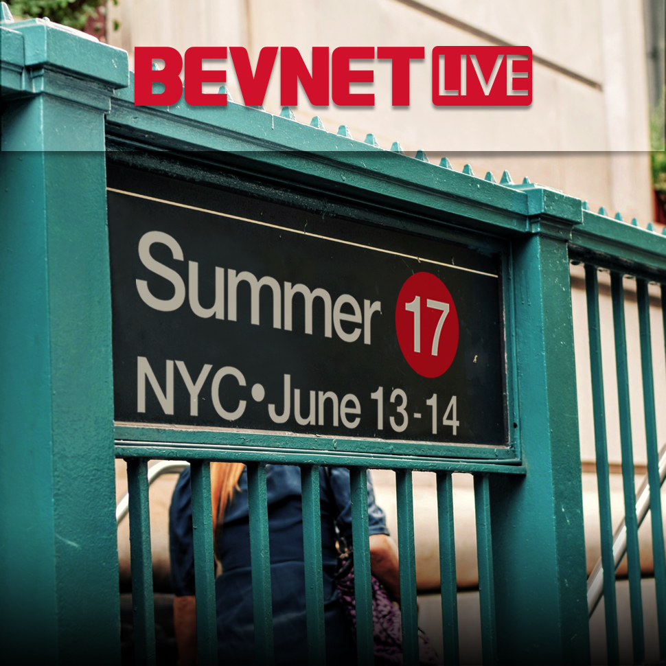 BevNET Live Summer 2017 is Almost Sold Out; Fewer than 10 Tickets Remain