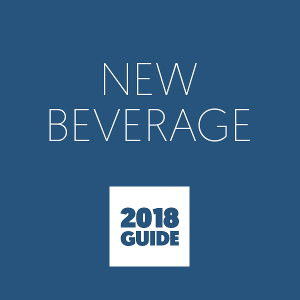 Call for Listings: 2018 New Beverage Guide