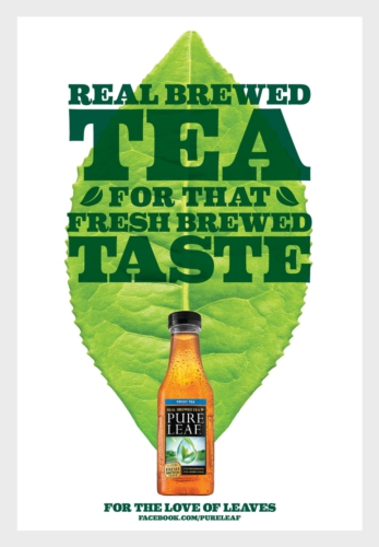 Pure Leaf Iced Tea Launches Quot For The Love Of Leaves