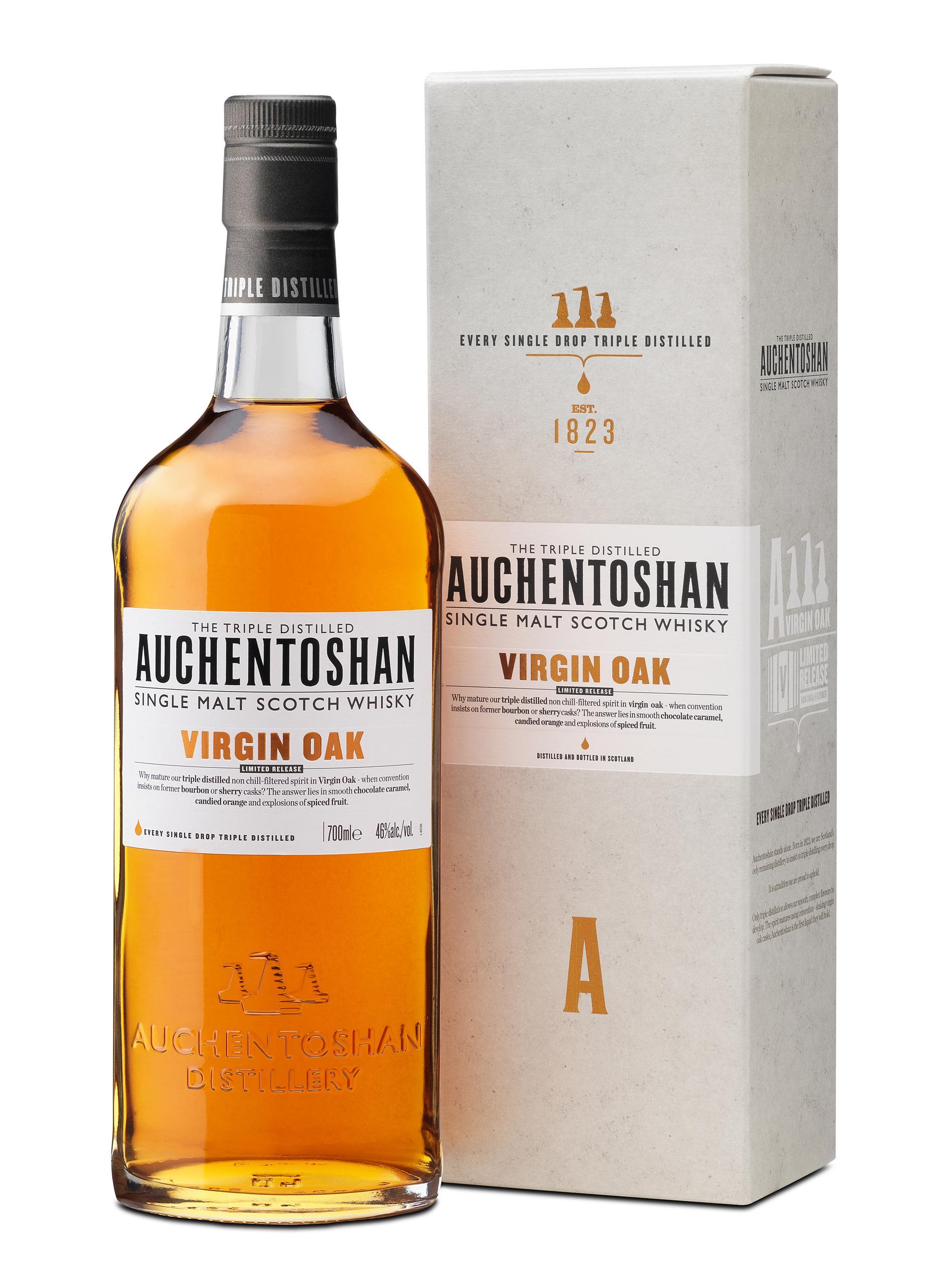 Auchentoshan Whisky Introduces Auchentoshan Virgin Oak