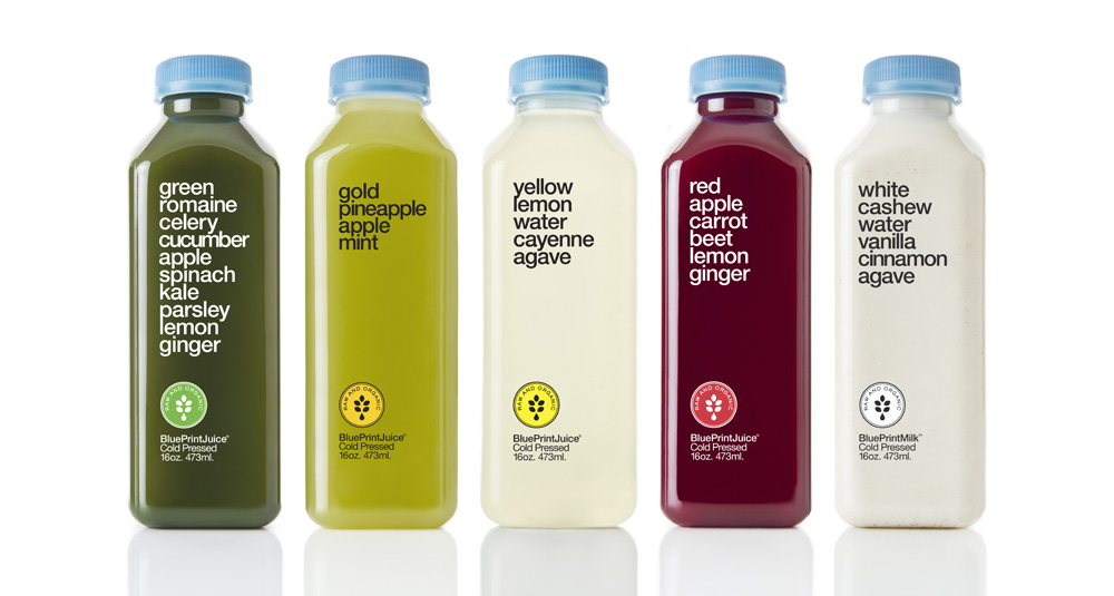 Lawsuit Claims BluePrint Juices are Neither