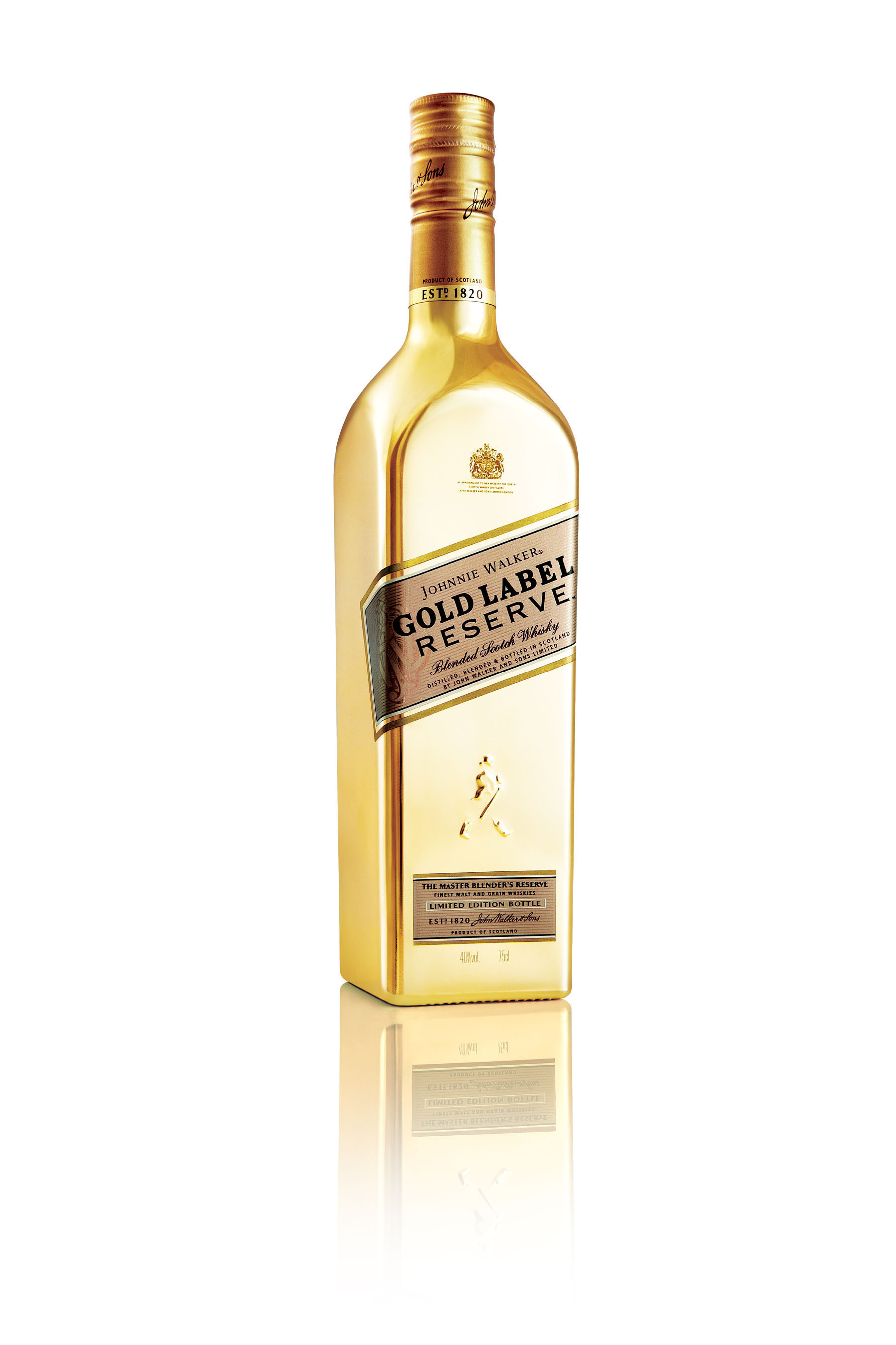 Diageo Introduces Johnnie Walker Gold Label Reserve To The