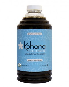 Kohana Coffee Brews Up First Shelf Stable Cold Brew