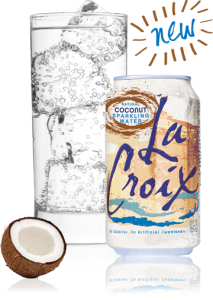 LaCroix Coconut Sparkling Water
