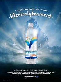 Ad for Resource: They&#039;re Focusing on &quot;electrolytenment.&quot;