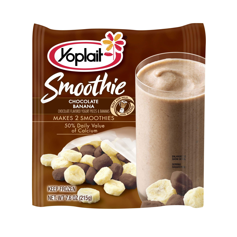 Yoplait Chocolate Banana Smoothie | BevNET.com