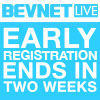 BevNET Live Early Registration Expires in 2 Weeks