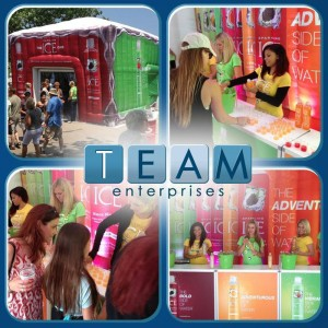TEAM ENTERPRISES SPARKLING ICE
