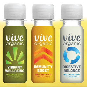 Vive Organics Takes a Shot at Wellness
