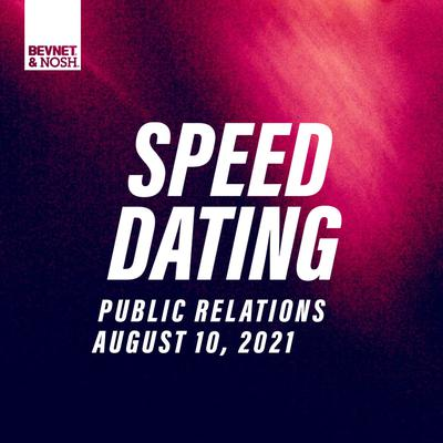Public Relations Speed Dating