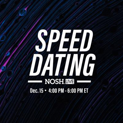NOSH Live: Designer Speed Dating