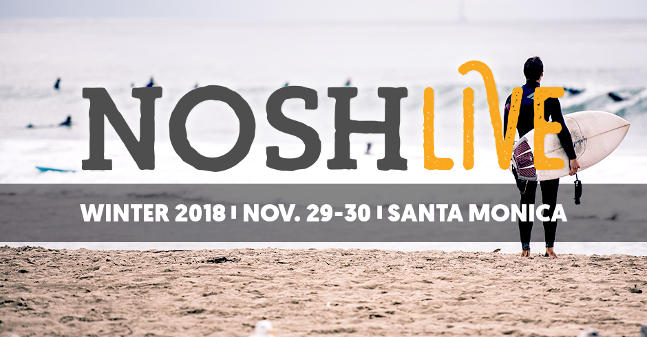 Past Event) NOSH Live Winter 2018 -- Took place on November 29+30
