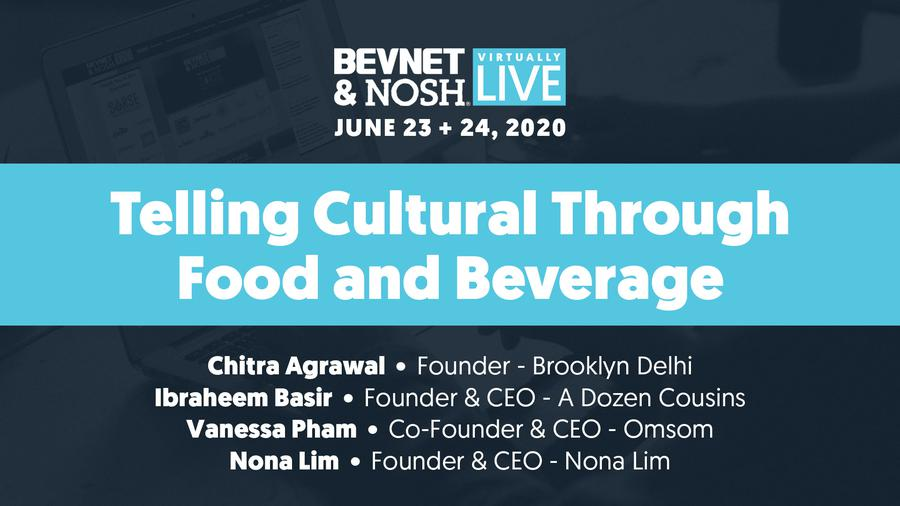 Virtually Live 2020:  Telling Cultural Stories Through Food and Beverage