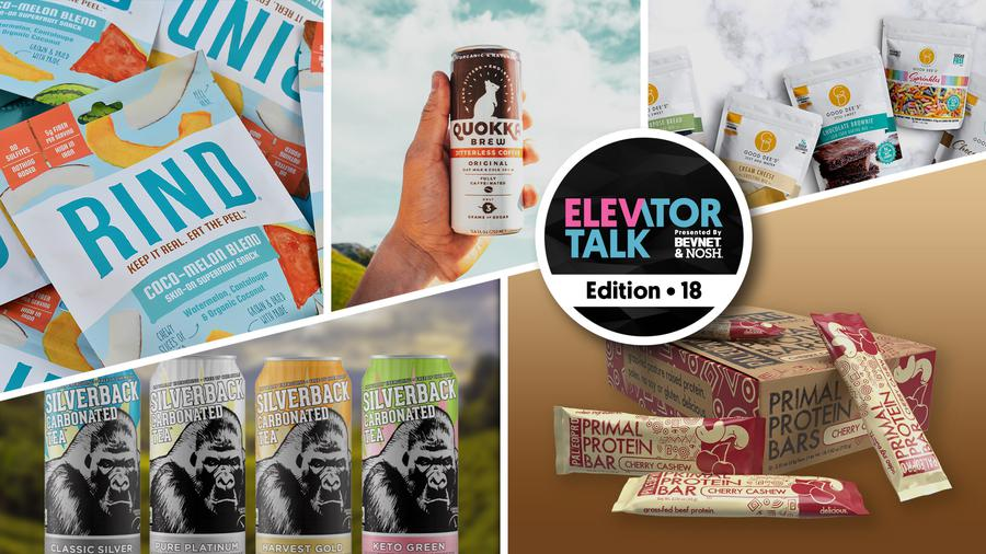Elevator Talk Ep. 18: Quokka Brew, RIND Snacks, 3 Mountains Tea, Good Dees, Paleo Pro