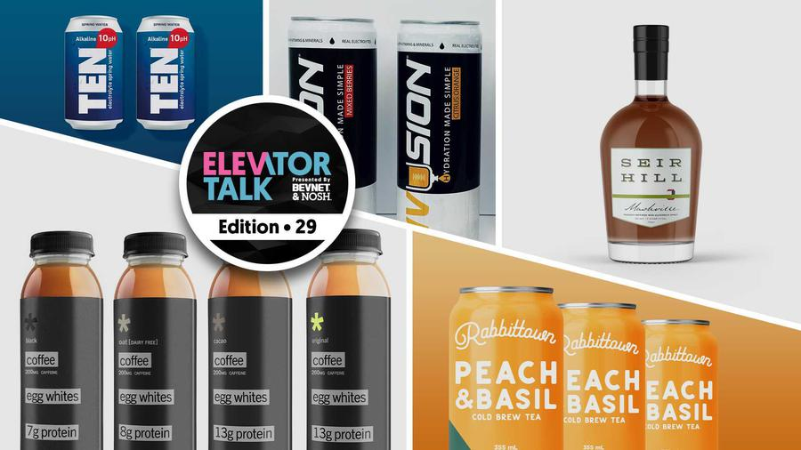 Elevator Talk Ep. 29: Projo, Rabbittown, TEN Alkaline Spring Water, Seir Hill and Ivusion
