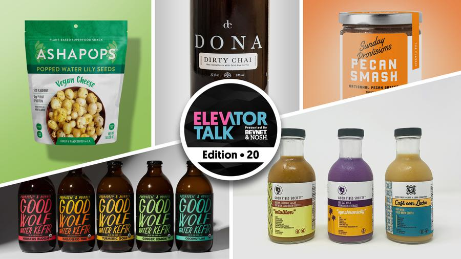 Elevator Talk Ep. 20: Dona, AshaPops, Good Wolf, Sunday Provisions, Good Vibes Society