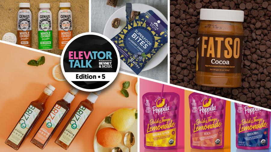 Elevator Talk Ep. 5: Poppilu, Vital Farms, Genius Juice, Cocoa Metro