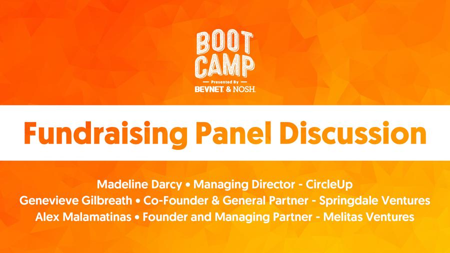 BevNET & NOSH Boot Camp 2021: Fundraising Panel Discussion