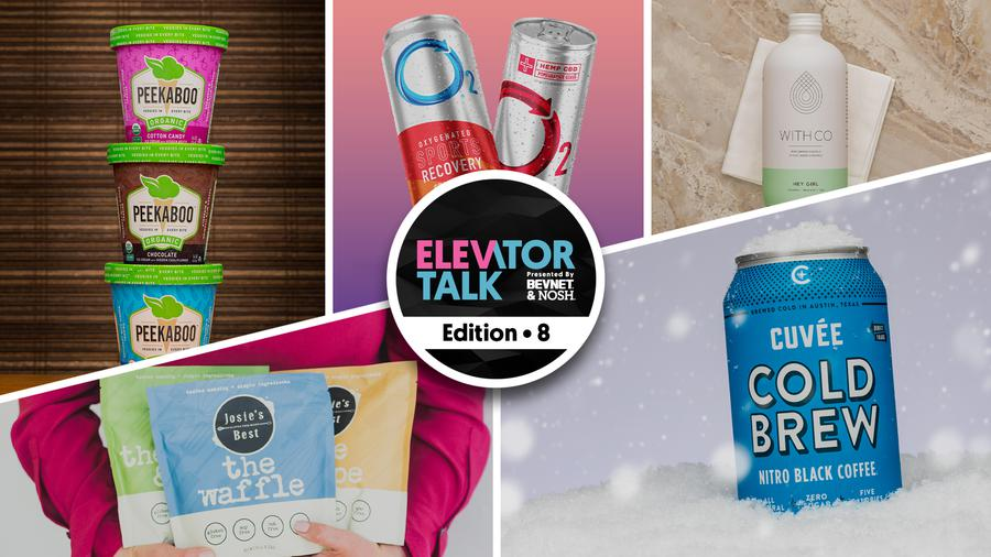 Elevator Talk Ep. 8: Simply 7 Snacks, Cuvee Coffee, Wedderspoon, Peekaboo Ice Cream, Catalina Crunch