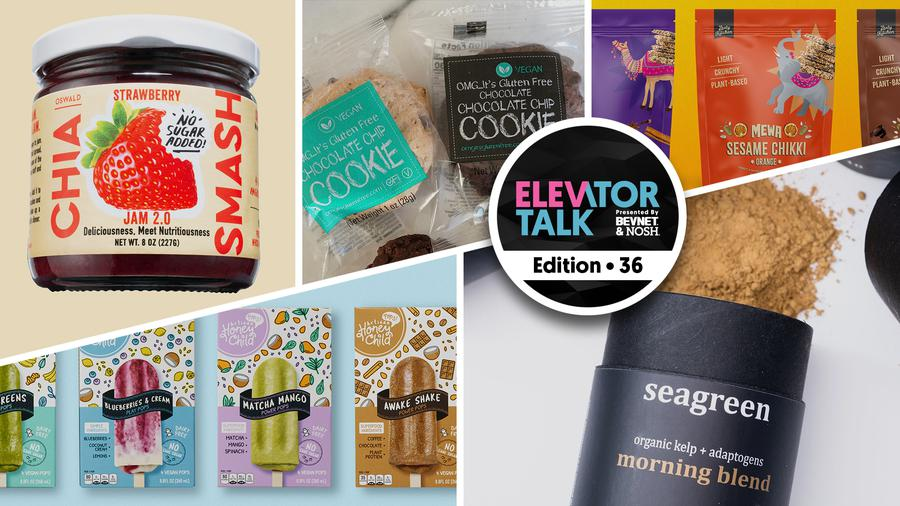 Elevator Talk EP. 36: Chia Smash, Honey Child Artisan Pops, Zesty Kitchen, OMG...It's Gluten Free, and Seagreen