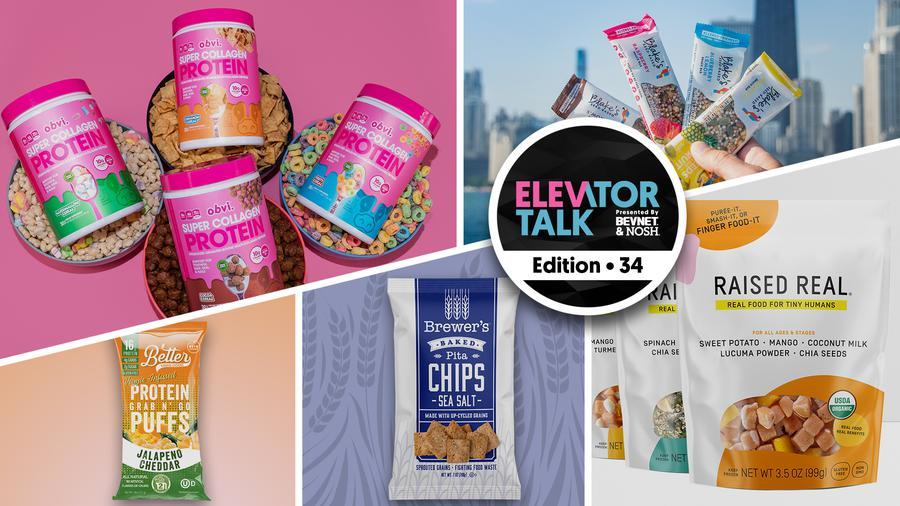 Elevator Talk Episode 34: Emerging Food Brands