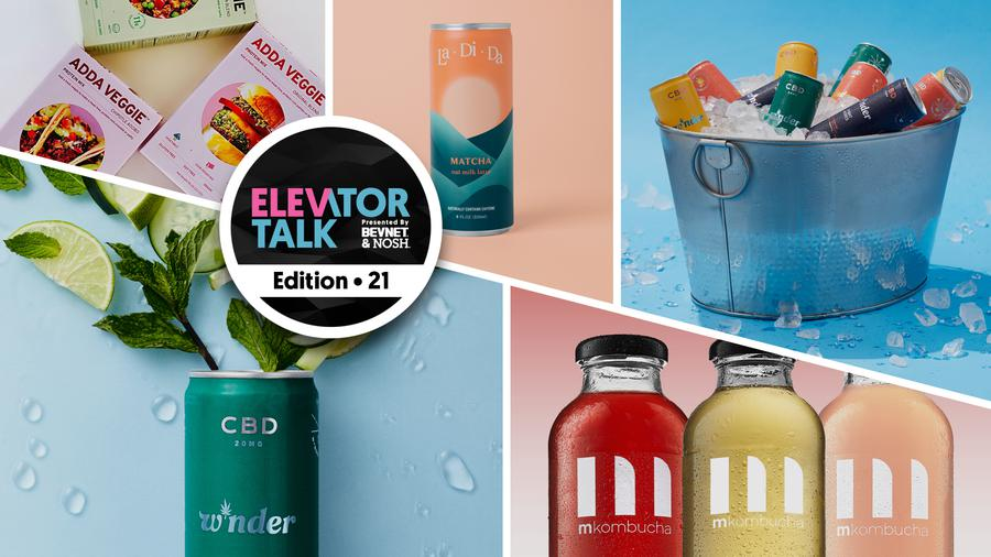 Elevator Talk Ep. 21: Read the Ingredients, W*nder, La Di Da, M Kombucha, Down to Cook Foods