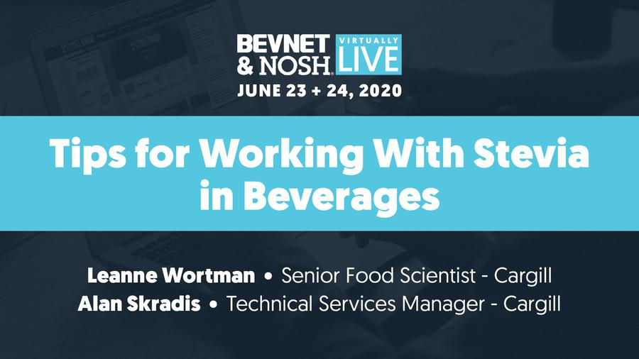 Virtually Live 2020: Tips for Working with Stevia in Beverages