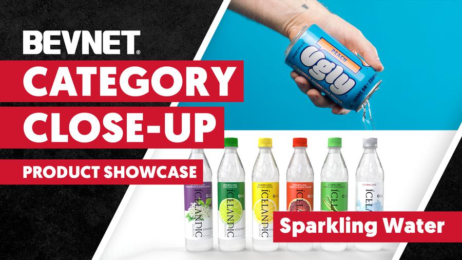 Category Close-up: Sparkling Water - Product Showcase