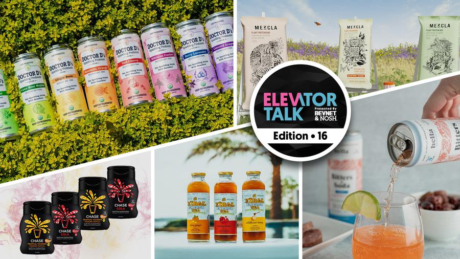 Elevator Talk Ep. 16: Hella Cocktail Co., Doctor D's, Chase Your Drink, Vibal Energy Tea, Mezcla