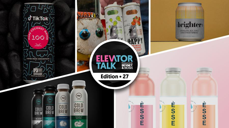 Elevator Talk Ep. 27: Esse Water, Omni Bev, Brighter Tonic, 100 Coconuts & Cruise Beverages