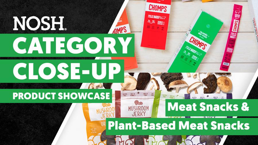 Category Close-Up: Product Showcase - Meat Snacks & Plant-Based Meat Snacks