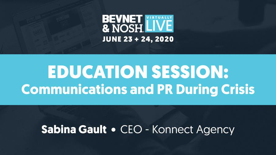 Virtually Live 2020: Communications and PR During Crisis