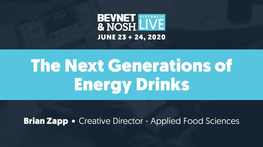 Virtually Live 2020: The Next Generation of Energy Drinks