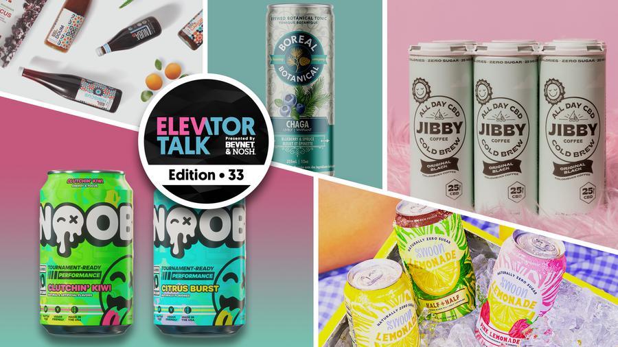 Elevator Talk Episode 33: NOOB Energy, Nuba Tisane, Jibby Coffee, Boreal Botanical, and Swoon