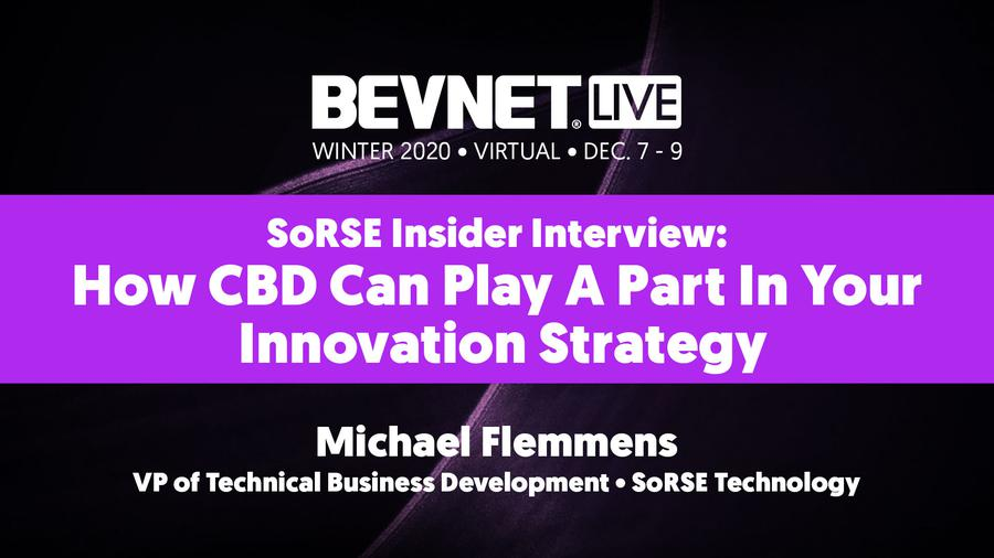 SoRSE Insider Interview: How CBD Can Play A Part In Your Innovation Strategy