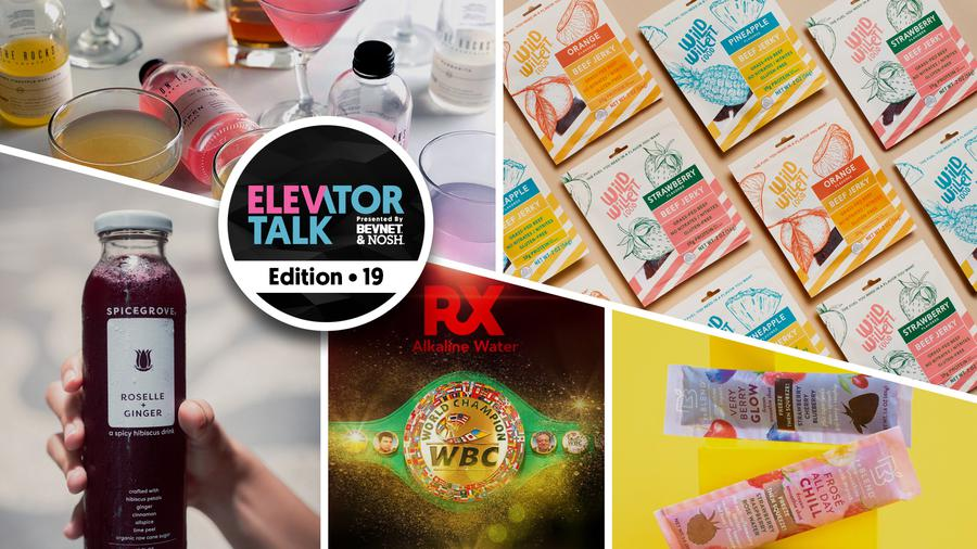 Elevator Talk Ep. 19: Spicegrove, On The Rocks Cocktails, RX Water, Wild Willett Food, reBLEND