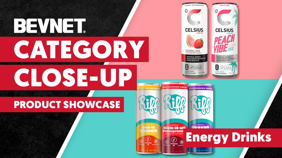Category Close-Up: Product Showcase - Energy Drinks