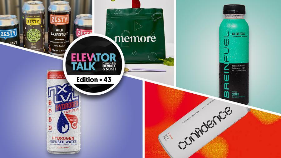 Elevator Talk Episode 43: Zesty Beverages, Memore, Breinfuel, NXT LVL Hydrogen Water, Confidence