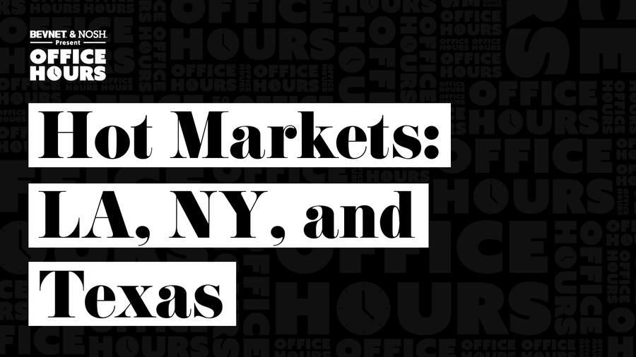 Office Hours - Hot Markets: LA, NY, and Texas During Covid-19